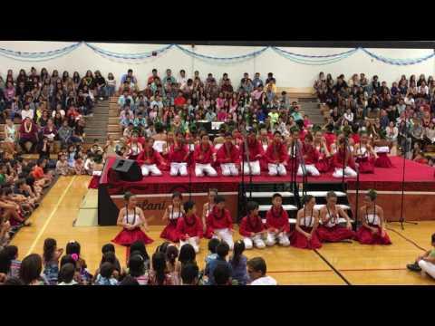 Iolani May day 5/2/ 2017 - Lower School Halau