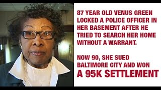 How Grandma Locked The Bad Police Officers In Her Basement