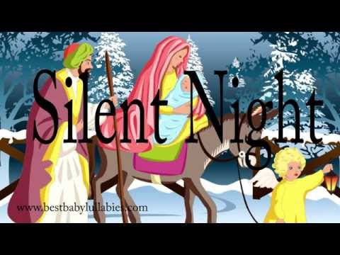 ♥ Christmas Songs Lyrics Lullabies Christmas Music Lullaby Lyrics Songs for Babies to go to Sleep  ♥