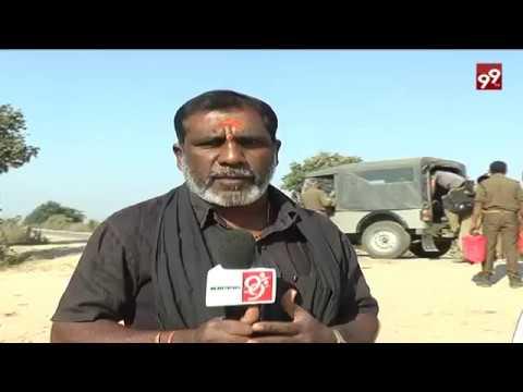 Tiger Roams in Adilabad Village..||99tv||