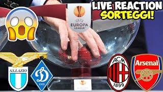 Sorteggi Europa League in LIVE! Milan-Arsenal | Lazio-Dinamo Kiev