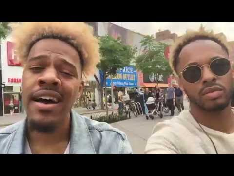 OUI by Jeremih - LIVE COVER DOWNTOWN BROOKLYN
