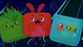 Четверо в кубе - Самая страшная история - развивающий мультфильм для детей - страшилка