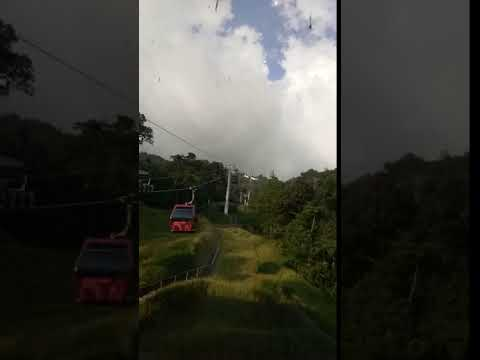 Whole view of Genting Mount from cable, Malaysia, phần 3, ngày 10 tháng 11 năm 2018.
