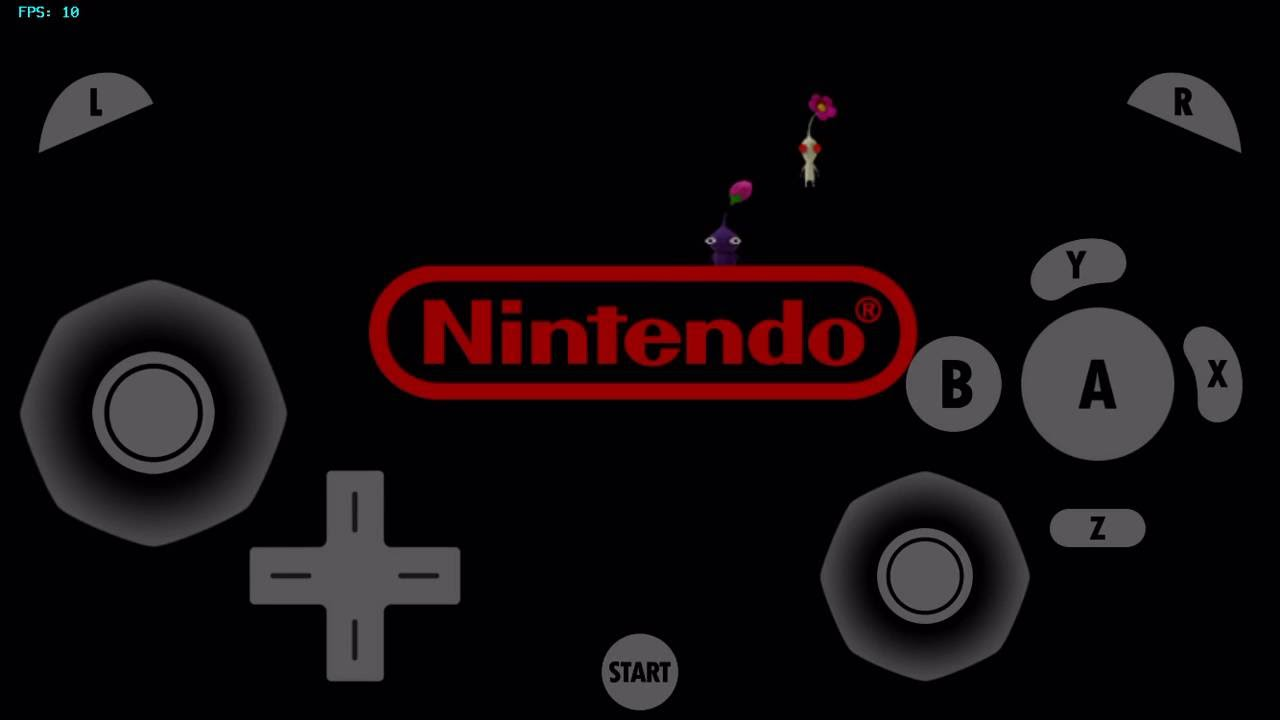 gamecube for ios- Pikmin 2 (Boot Test)