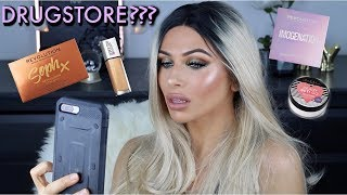 R U OK DRUGSTORE?!?! WHO IS SHE???!! FULL FACE DRUGSTORE MAKEUP