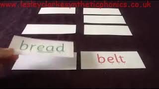Letters and Sounds Phase 5b: Week 8 Compound Word Pairs 'ea'