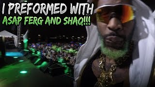 MY BIGGEST PERFORMANCE EVER!! ZOMBIE PUB CRAWL FT. Shaquille O'Neal and ASAP FERG