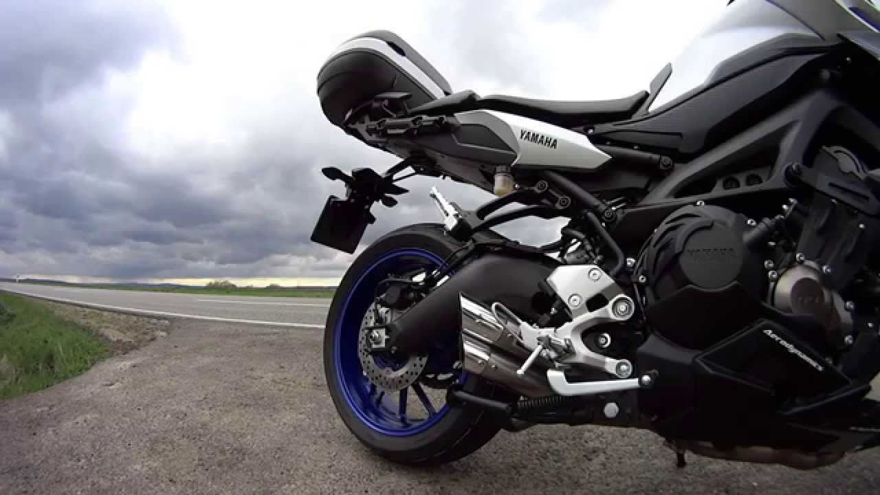 ixil full exhaust yamaha mt 09 tracer on the road in out. Black Bedroom Furniture Sets. Home Design Ideas