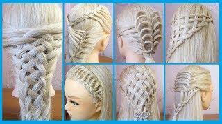 TUTO 💙 7 Coiffures simples et belles 💙 cheveux longs/mi longs 💙 facile à faire