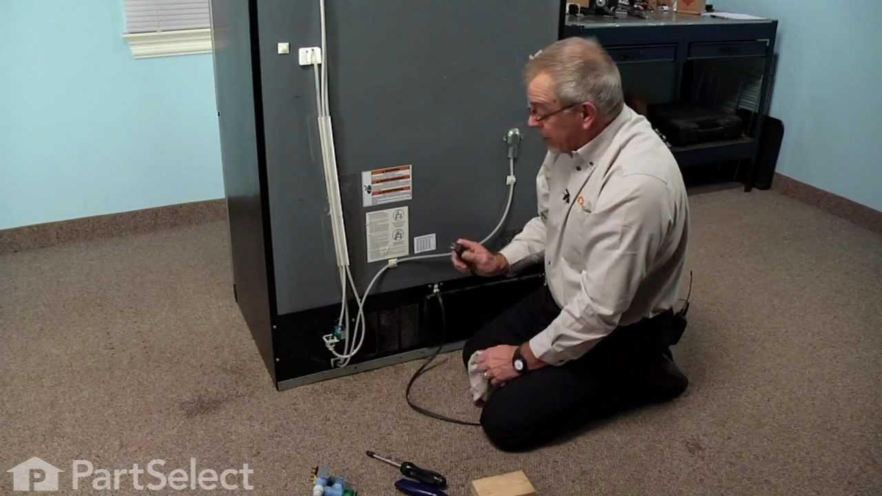 refrigerator repair replacing the dual water inlet valve whirlpool part 67005154 youtube [ 1280 x 720 Pixel ]