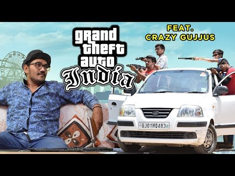GTA INDIA Ft. Crazy Gujjus | ACTION | FUNNY | GJ01 Productions