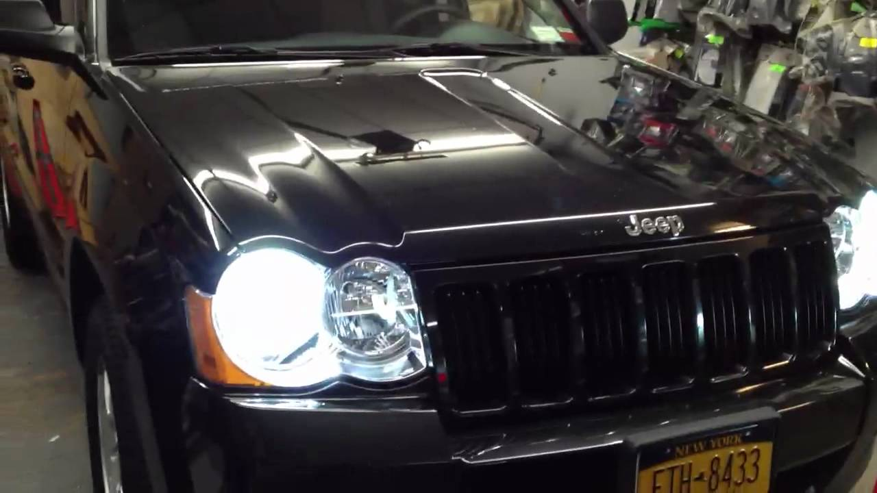 Jeep Cherokee 2007 Hids And Interior LEDs Lights