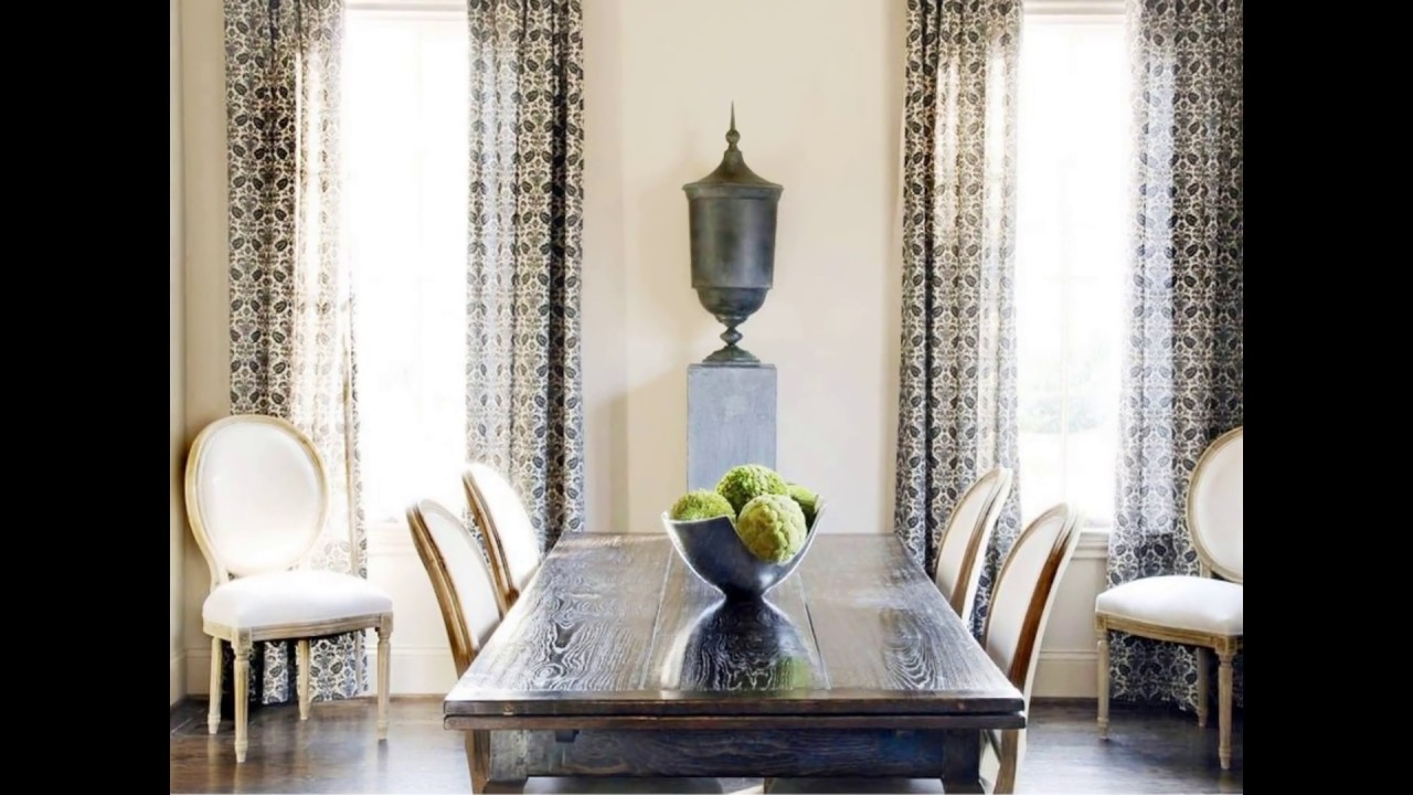 Dining Room Curtains I Ideas