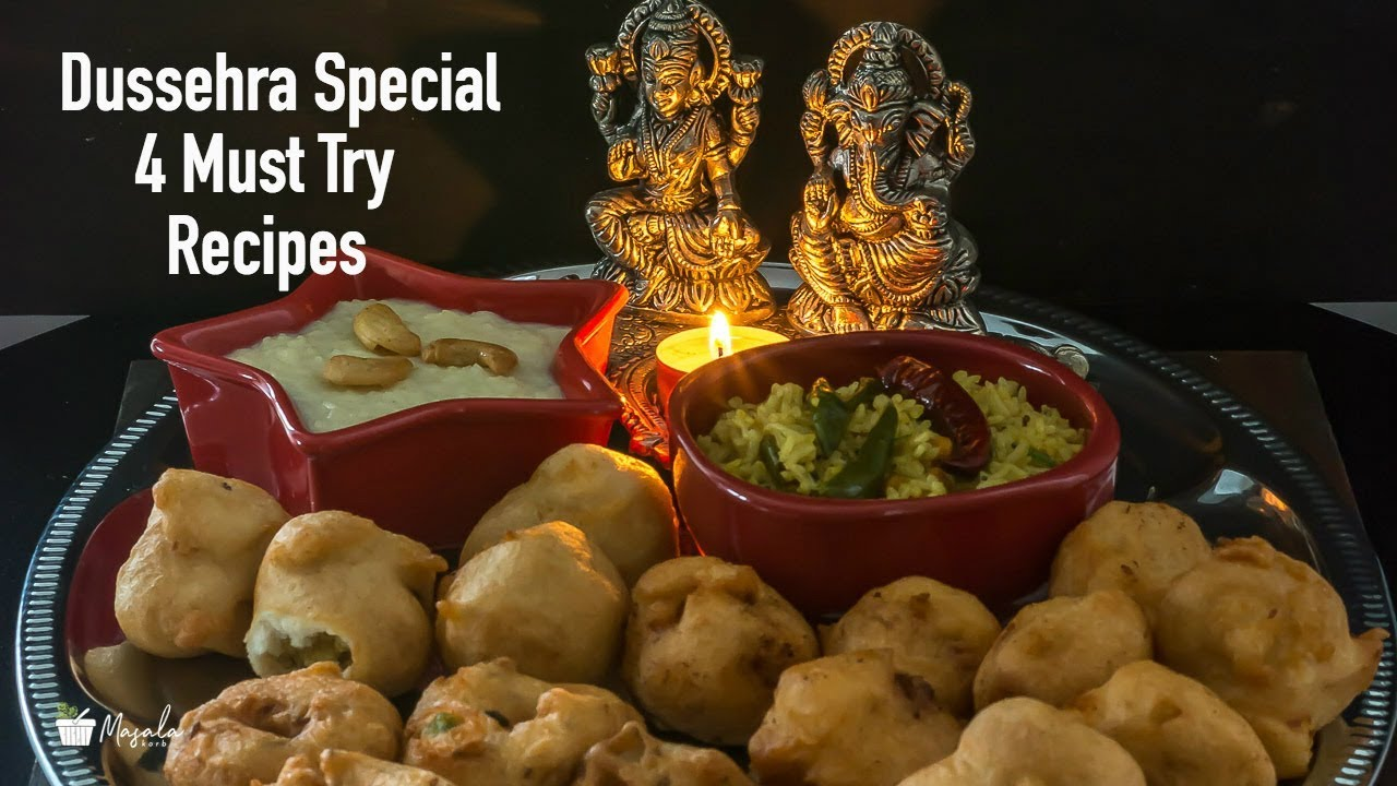 Dussehra Special Recipes 4 Easy Indian Festival Food Recipes To