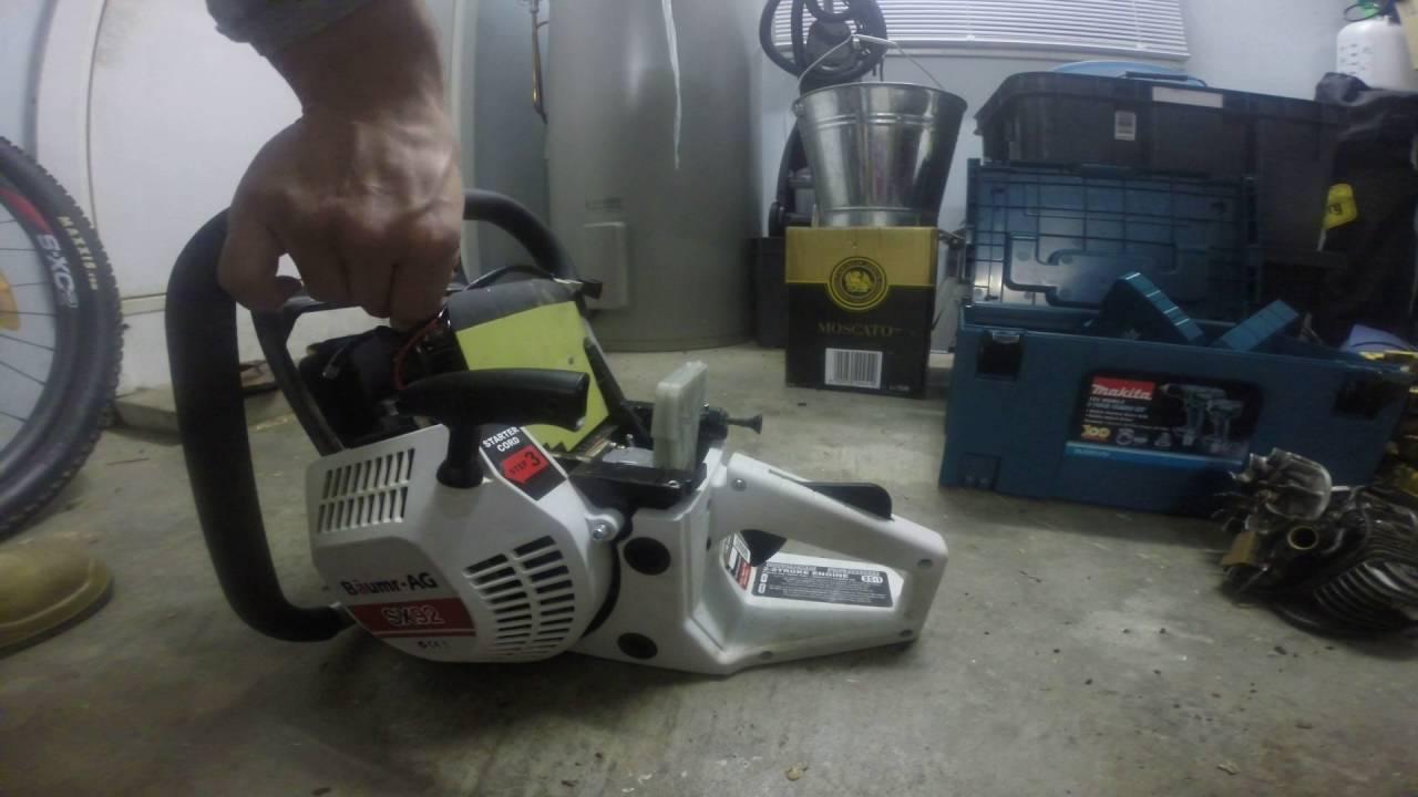 Baumr-AG 92cc Chainsaw Decompression Problem