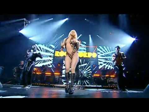 Lady GaGa - Poker Face Live - Orange Rockcorps