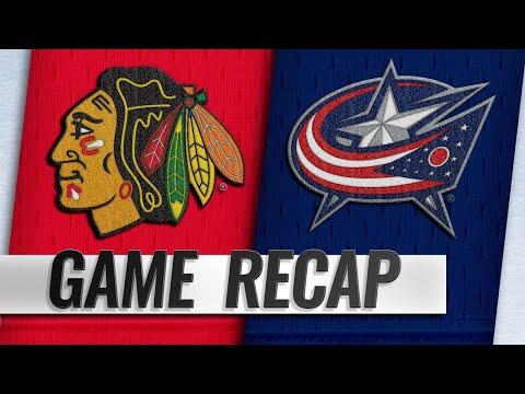 Kane, Crawford lead Blackhawks past Blue Jackets, 4-1