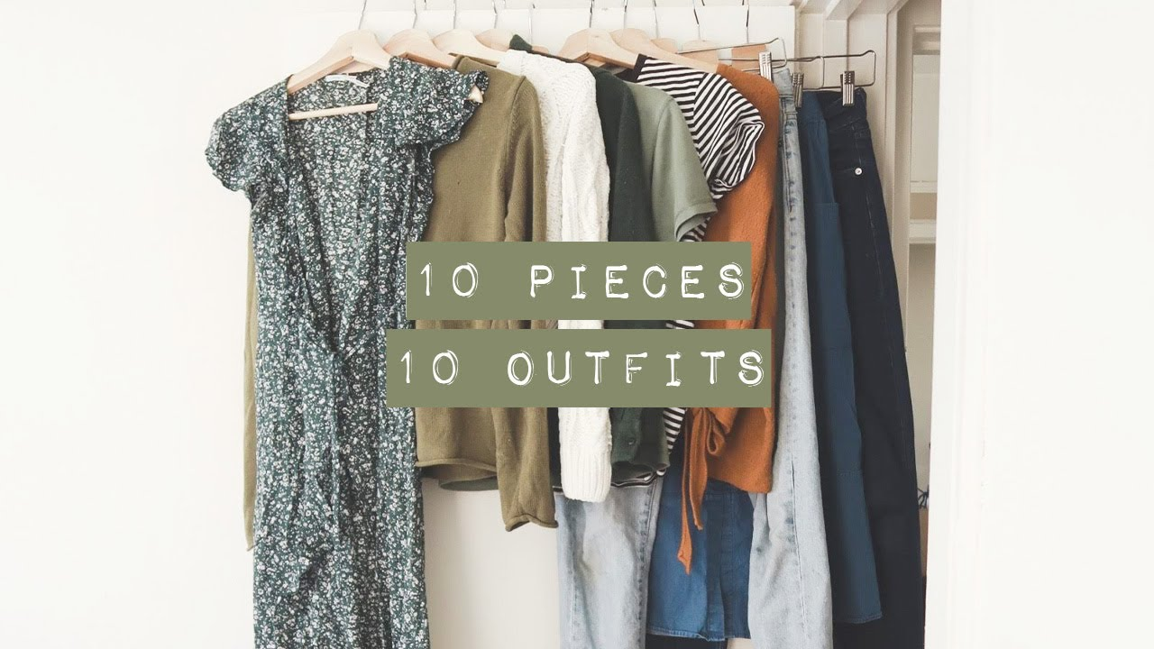10 pieces 10 outfits | what i wore during the spring 10x10 challenge 3