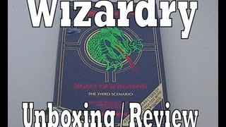 Wizardry Legacy of Llylgamyn The Third Scenario Unboxing & Review (PC / Computer)