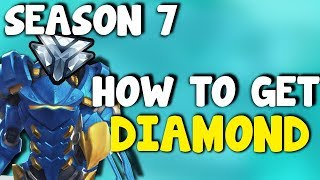 How To Get Diamond - Overwatch Competitive Season 7 | How To Rank Up Fast / How To Gain Skill Rank
