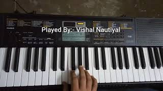 Barsaat Ke Mausam Mein (Naajayaz) Piano Tutorial