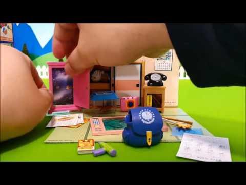 nobita anime Kids Doraemon Doll Bowling Toy ドラえもん アニメ おもちゃ のび太くんとゲームセンターに遊びに行くよ!ボーリング対決!ドラえもん VS のび太 勝負