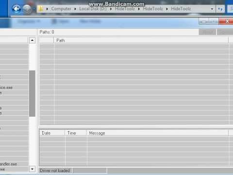 HideToolz 3.3 Windows XP- Windows 7