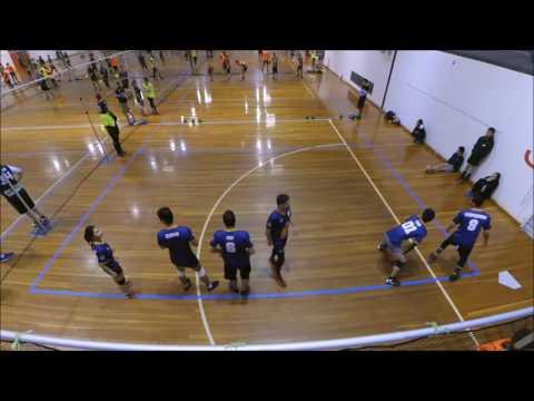 2016 Victorian Dodgeball League Round 8: Glen Waverley Gorillas vs Footscray Flames