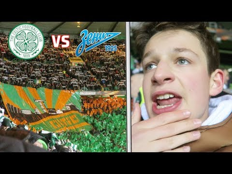 CELTIC vs ZENIT *VLOG*  The Ultras Do The Poznan + Meeting Rigoni