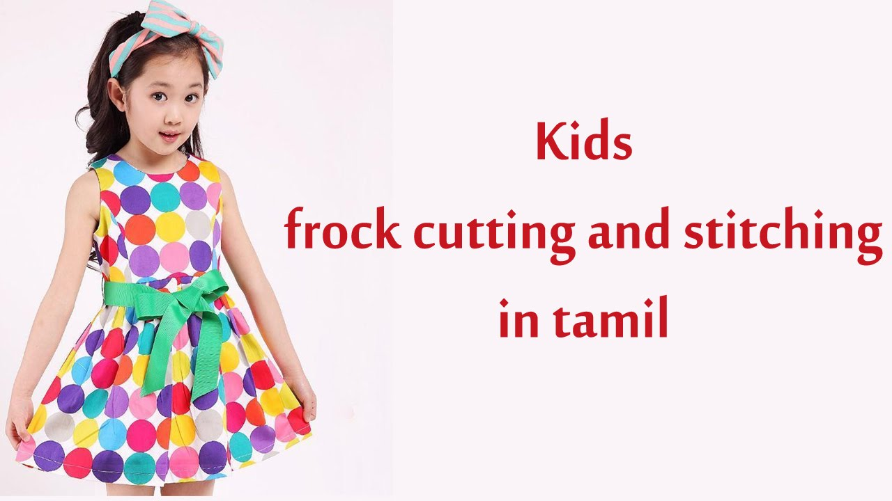 frock cutting and stitching for Kids | baby frock cutting ...