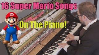 16 Super Mario Songs on Piano