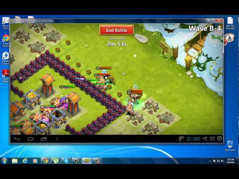 #06 Castle Clash | HBM Challenge B With 3 Heroes (No Garissons, & Troops)
