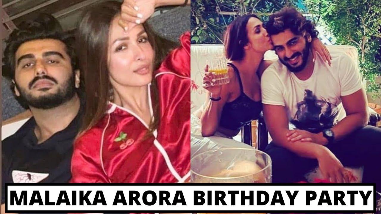 Download Malaika Arora And Arjun Kapoor Romantic Moments At Malaika's Birthday Party Inside Full Video