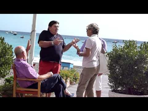 Italian Guy Talking With Hands. Watch The Hands Tell The Story