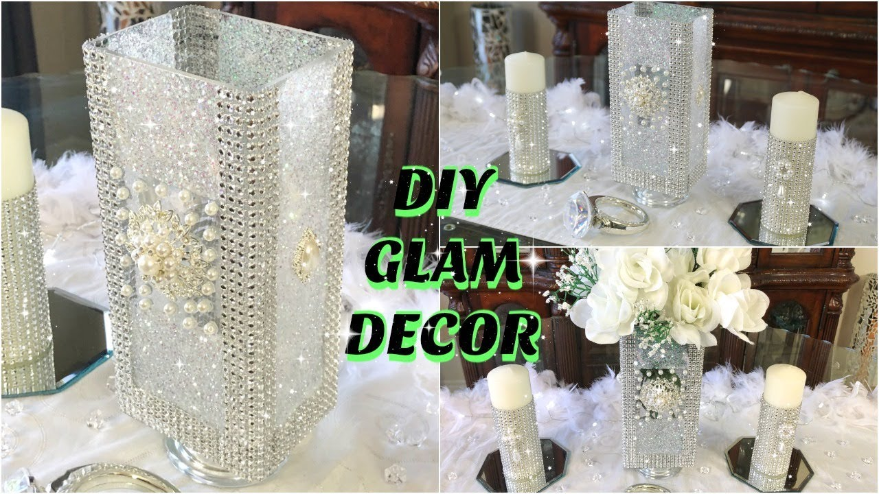 Dollar Store Diy Glam White Flowers Spring Wedding