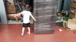 Hàng đi/1 em tủ lạnh Nhật bãi Mitsubishi/ điện máy huân Liên.