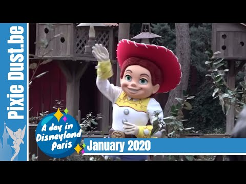 📆 A Day In January 2020 At Disneyland Paris