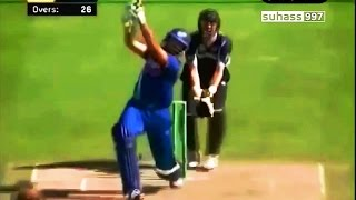 Yuvraj Singh - Smashes 87 vs NZ | Six 6s and 10 4s