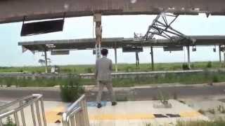 『見捨てられた駅』 福島第一原発から20キロ圏内にあるJR常磐線の富岡駅
