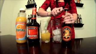 Peach Shock Beer Cocktail