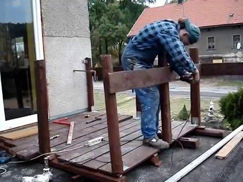 Taras Drewniany Montaż
