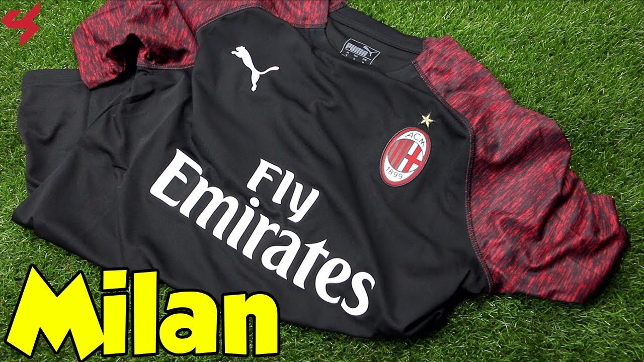 Puma Ac Milan 2018 19 Third Jersey Unboxing Review From Subside Sports Youtube
