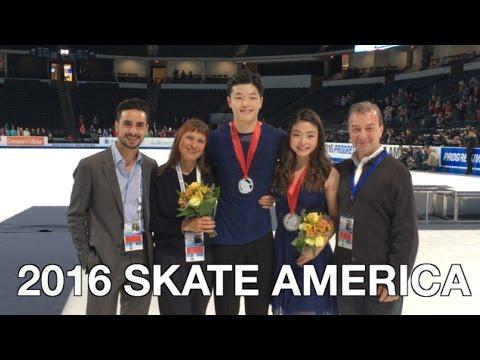 2016 SKATE AMERICA & NYC - ShibSibs (Vlog #37)