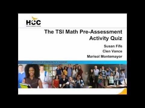 graphic regarding Printable Tsi Practice Test titled Math Coach Attempt TSI Examination Planning
