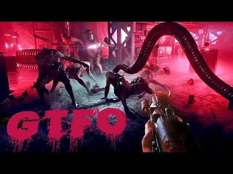 They Can Sense Our Fear - Scariest Game Ever! - GTFO Alpha Gameplay