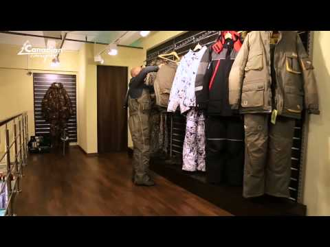 видео: Костюм рыболовный зимний canadian camper yukon 3 в 1
