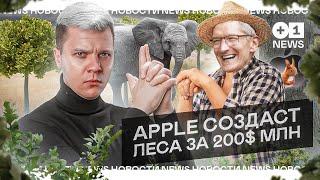 НОВОСТИ: В России начнут продавать воздух // Презентация лесов от Apple l +1NEWS
