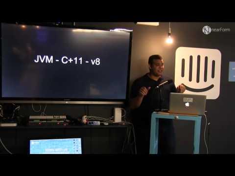 "Cesar Valdes: ""NodeJS EE: executing Java code inside NodeJS"""
