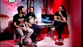 Opeth & Planet of Zeus Interviews (TV War 30/3/15)